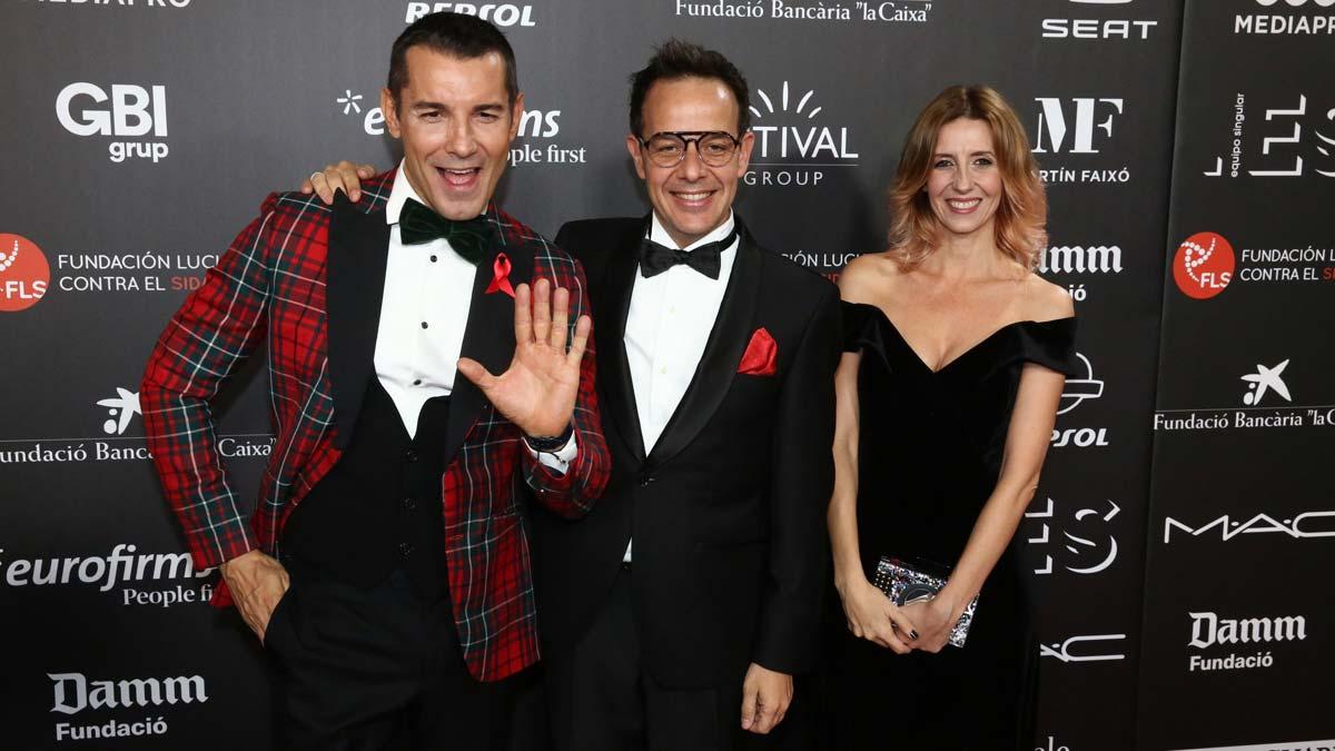 La gala People in Red recauda 720.000 euros para la lucha contra el sida.