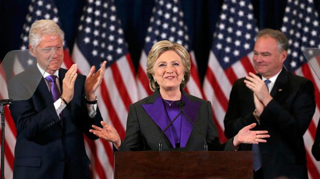 Todavía creo en América, ha asegurado Hillary Clinton en su discurso.