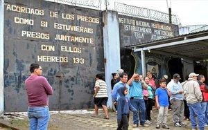 Una prisión de Honduras donde hubo enfrentamientos entre reos.