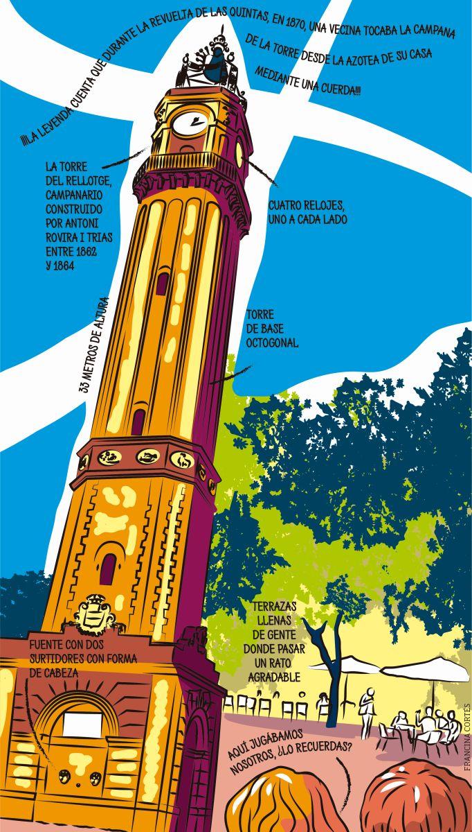 Plaza de la Vila de Gràcia: ¿Vamos a merendar al 'campanar'?