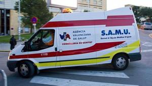 La menor fue trasladada el pasado martes al Hospital La Fe donde continúa ingresada en coma inducido