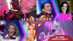 Imágenes de Mónica Carrillo y Norma Duval durante su paso por 'Mask Singer: Adivina quién canta' como Mariquita y Unicornio.