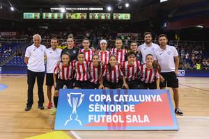 El femení de la Penya Esplugues aconsegueix la seva tercera Copa de Catalunya