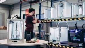 Impresoras 3D de la start-up de Lleida Intech3D.