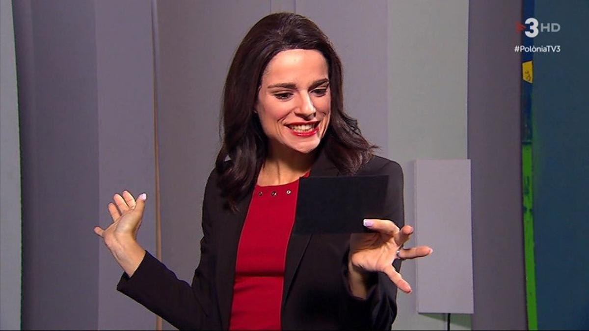 Inés Arrimadas (Lara Díez), en 'Polònia'