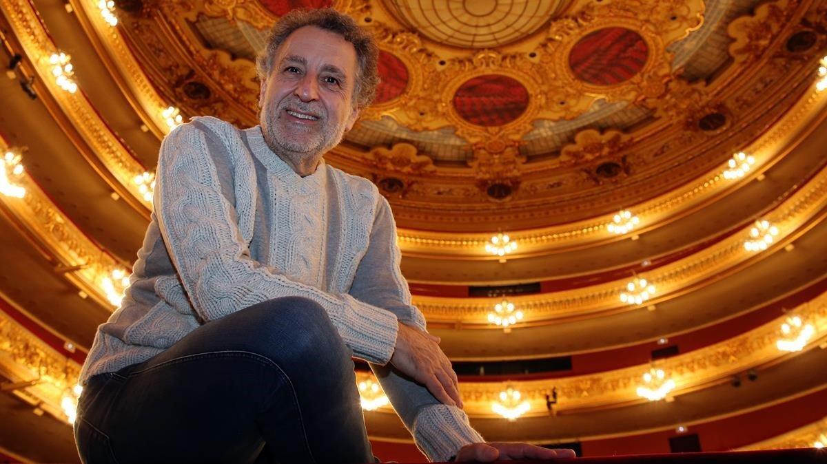 Josep Pons, director musical del Liceu.