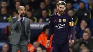 Messi, el favorit de Guardiola