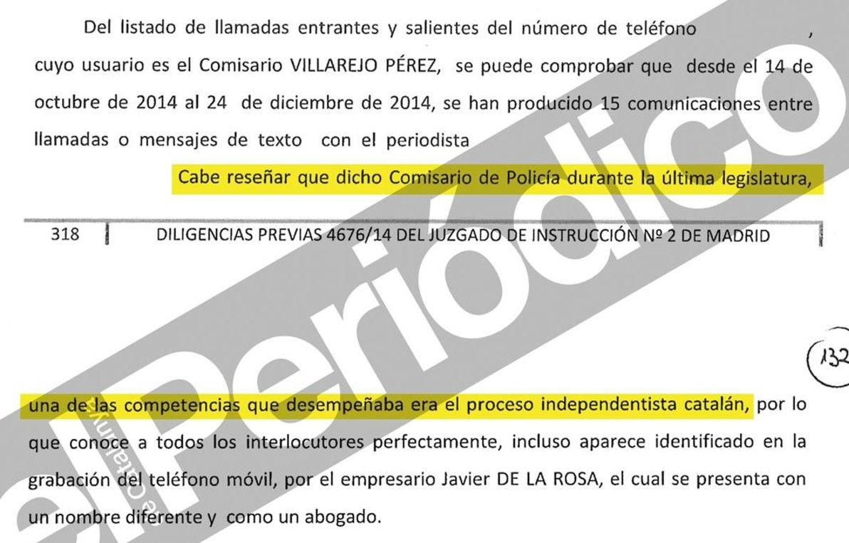 Un informe policial confirma que hi havia una 'operació Catalunya'