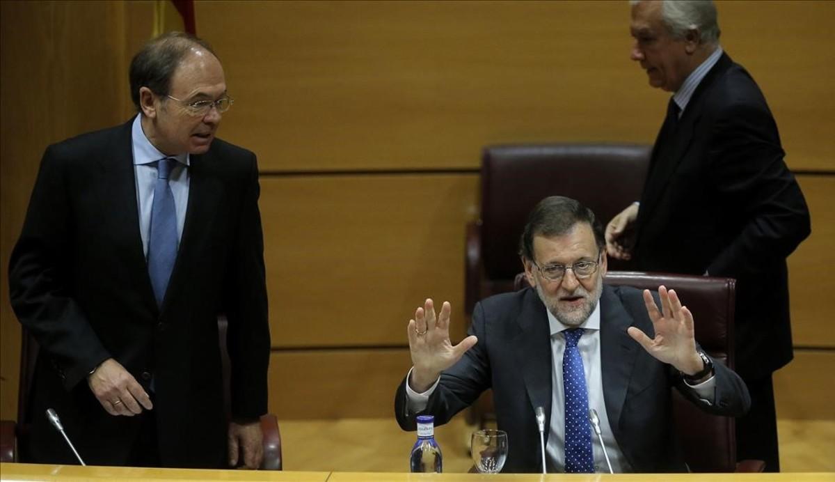 El Govern central explicarà al Senat el 22 de març l'aplicació del 155 a Catalunya