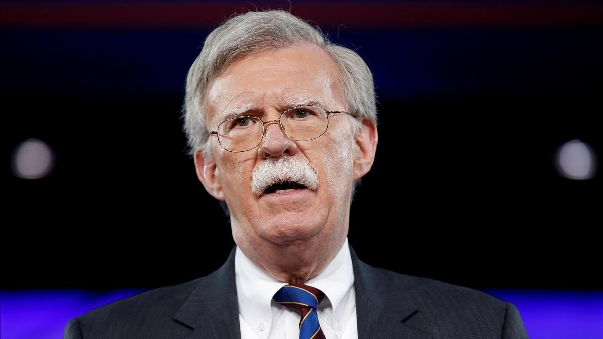 John Bolton, en una conferencia reciente, en Maryland.