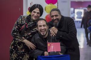 José Mota, con El Langui y El Cigala, en el especial de Nochevieja de TVE-1.