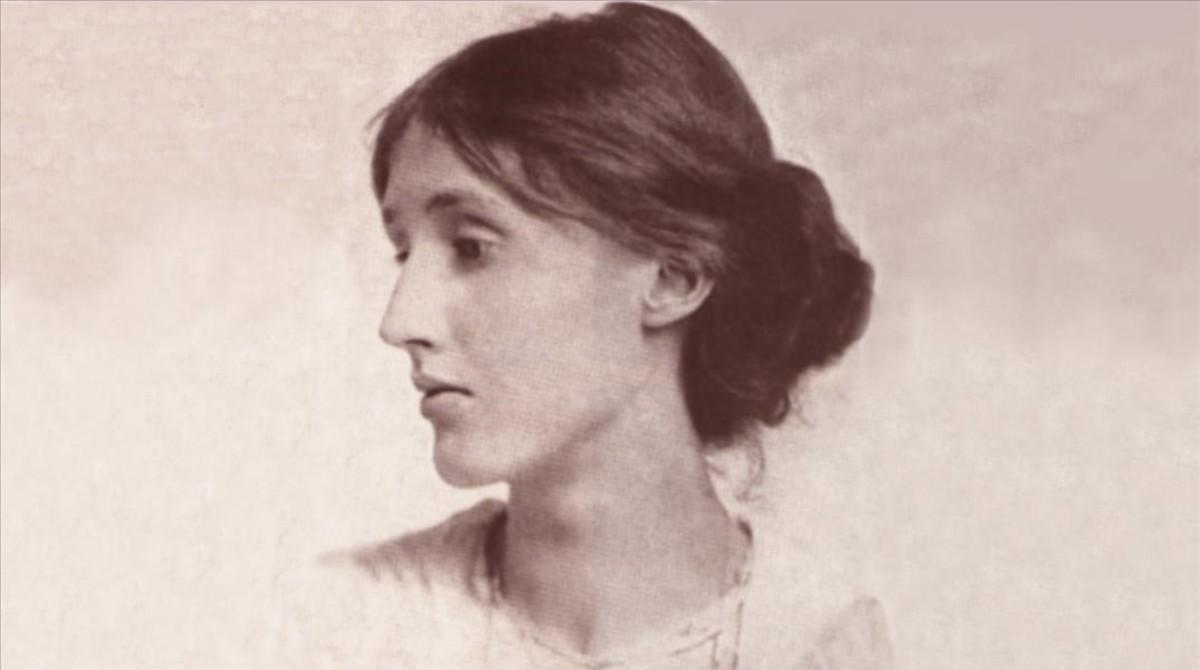 Un retrato de la escritoraVirginia Woolf