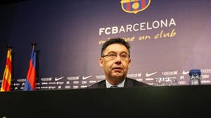 Josep Maria Bartomeu, actual presidente del Barça.