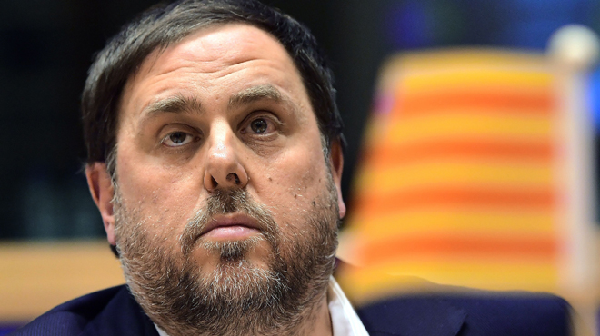 Junqueras admite que la Generalitat prepara su propia base de datos fiscales.