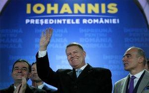 Klaus Iohannis, presidente de Rumanía.
