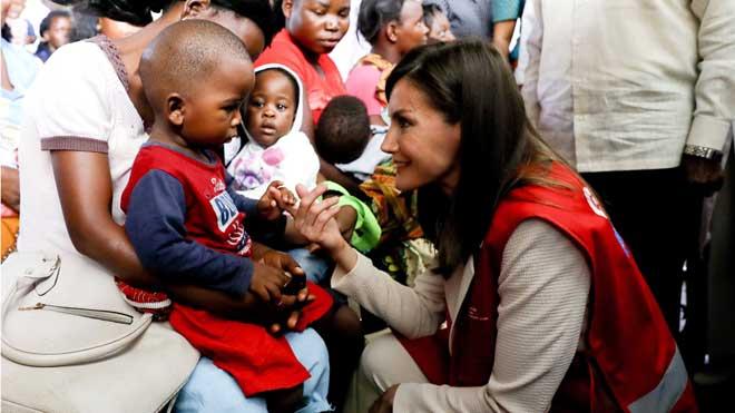 Letizia, contra la malària