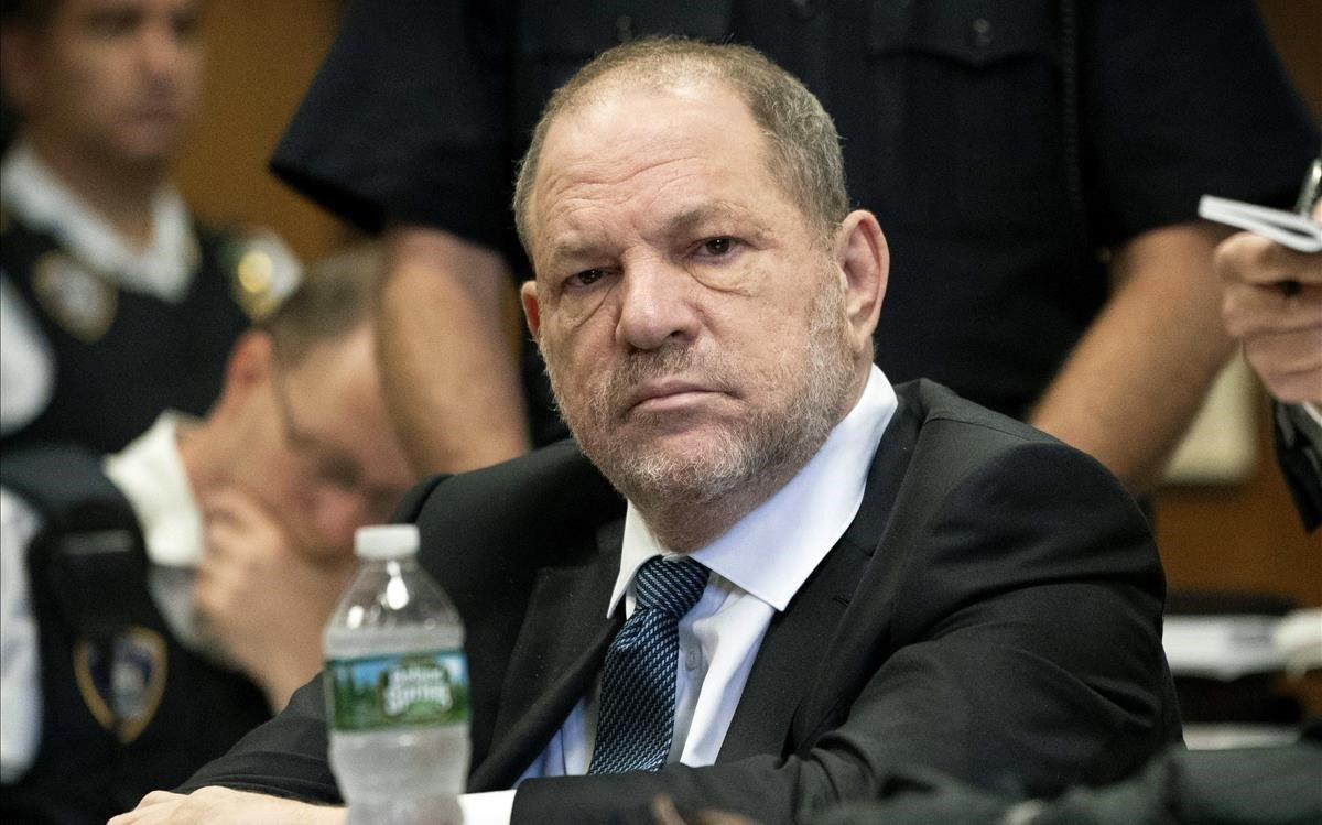 Harvey Weinstein, el pasado 11 de octubre, en los juzgados de Manhattan.