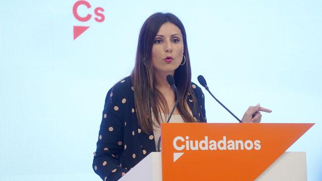 Lorena Roldán (Cs) pregunta a Torra si cuando pedía a los CDR apretad eran los detonadores.