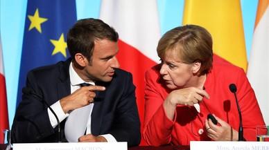 Los retos de Macron y Merkel