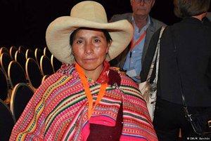 Máxima Acuña ganóel premio medioambiental Goldman en 2016.