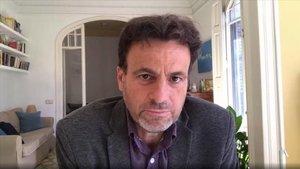 Jaume Asens, presidente del grupo parlamentario de Unidas Podemos-En Comú-Galicia en Común.