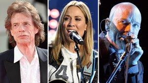 Mick Jagger, Sheryl Crow y Michael Stipe, entre los músicos firmantes de la carta contra el uso de sus canciones sin su consentimiento en los mítines.