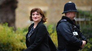 La ministra británica de Cultura, Nicky Morgan.
