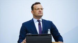 El ministro de Salud alemán, Jens Spahn, en una rueda de prensa el pasado 6 de agosto.
