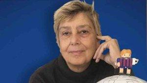 Emanuela Audisio, ganadora del premio Vázquez Montalbán.