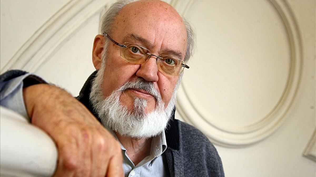 El cineasta José Luis Cuerda, en abril del 2013