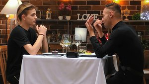 Nicolás y Christian en 'First Dates'.