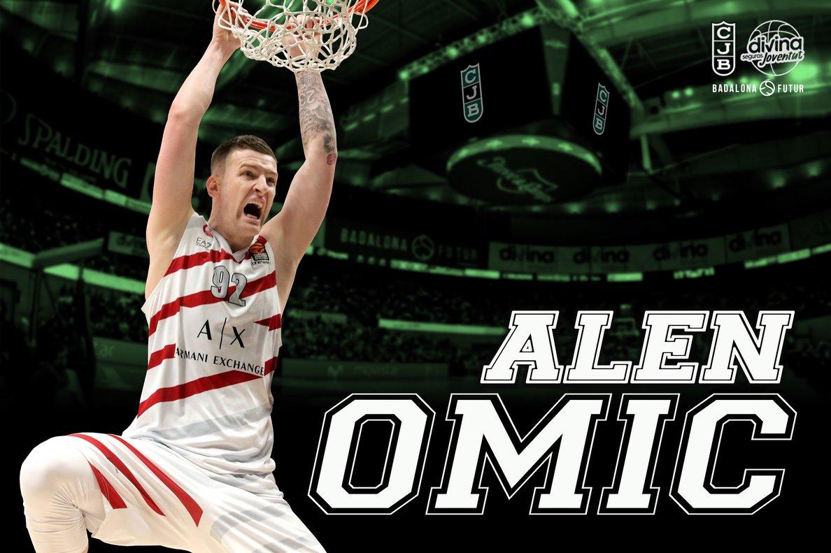 Alen Omic jugarà en el Divina Joventut la pròxima temporada