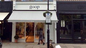 El elegante escaparate de 'Goop', a juego con el acomodado barrio de Notting Hill