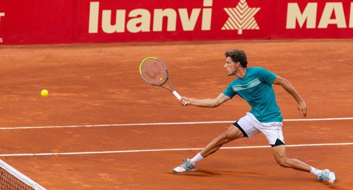 Pablo Carreño, en el torneo.