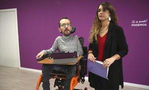 Podemos alerta de un posible pacto poselectoral entre PSOE y Cs