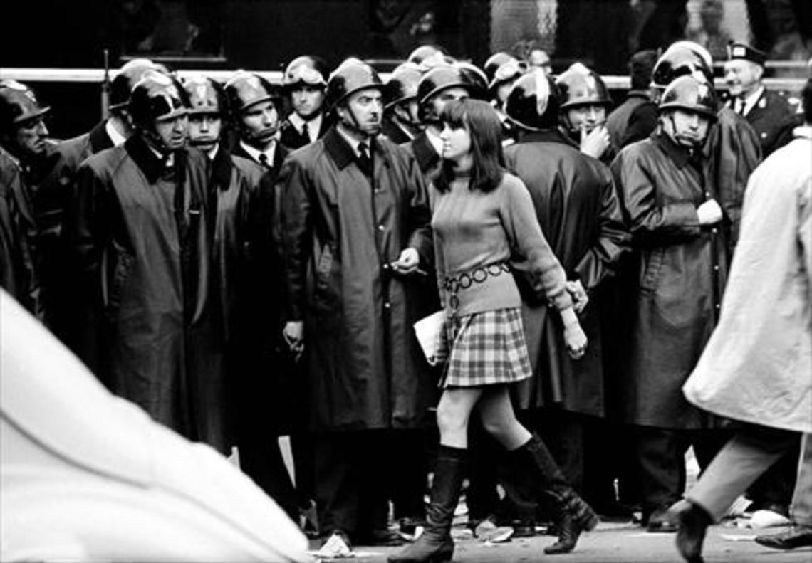 París, mayo del 68, uno de los reportajes que hizo para Triunfo.