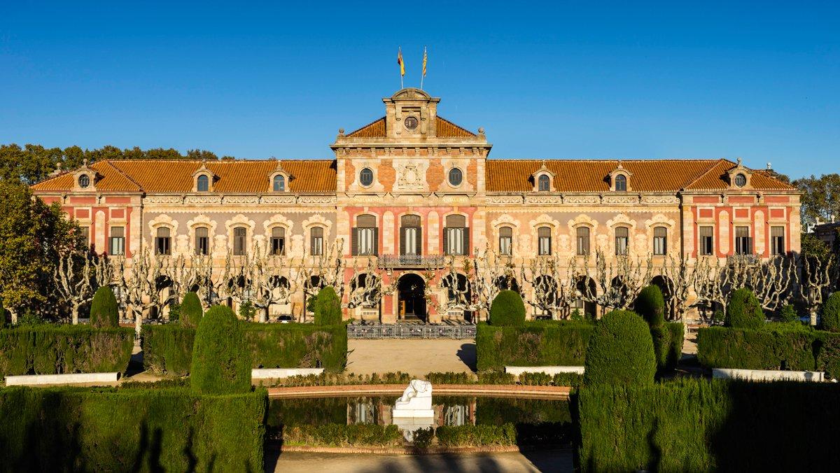 El Parlament de Catalunya, que cumple 40 años desde su restitución.