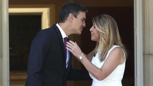 Sánchez y Díaz abordan la espinosa financiación autonómica