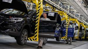 La planta de montaje de Renault en Palencia.