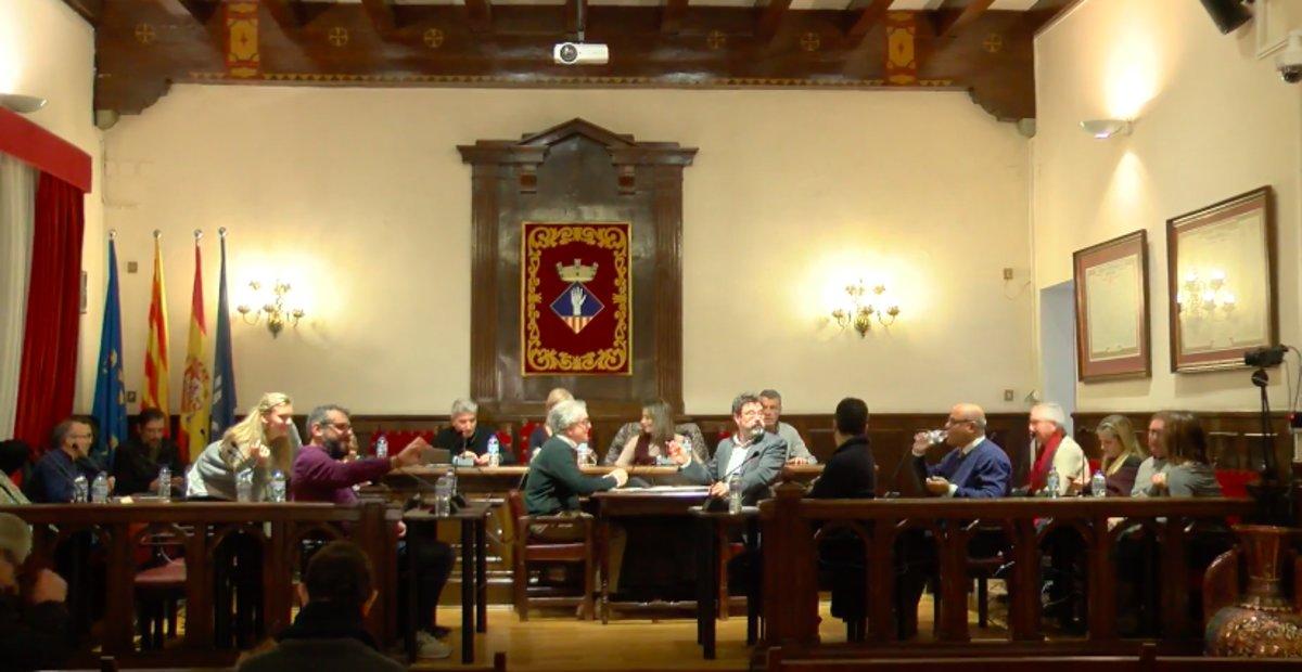 Pleno municipal extraordinario del Ayuntamiento de Esplugues de este miércoles