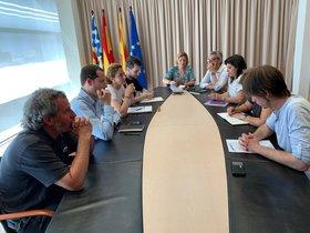 Reunión en El Viver de Badalonapara buscar consenso en la aprobación del cartapacio.