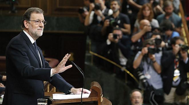 Rajoy: No pido la luna, señorías, pido un Gobierno previsible