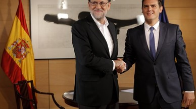 Rajoy prevé usar como guía para gobernar las 150 medidas acordadas con C's