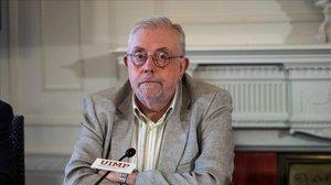 El secretario de Estado de la Seguridad Social, Octavio Granado, en la Universidad Internacional Menéndez Pelayo.