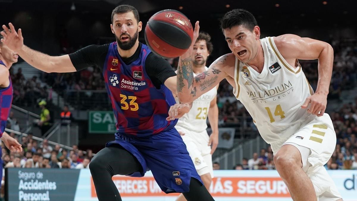 Mirotic posa el morbo en la visita del Barça al Madrid