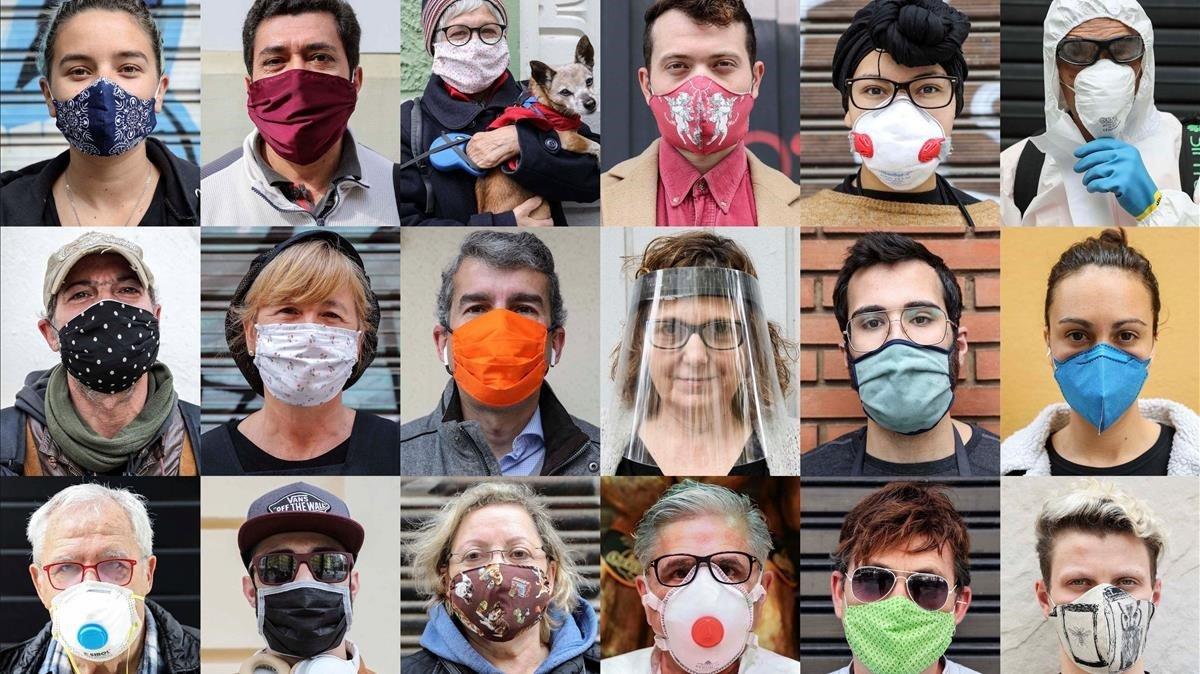 Europa rectifica i recomana ara l'ús de mascaretes en asimptomàtics
