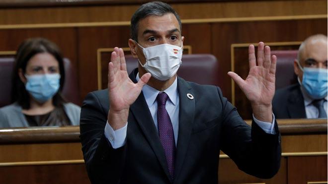 Sánchez avisa al PP que con su defensa del Rey puede repetir lo que pasó en Catalunya.