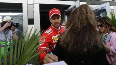 Vettel lidera los primeros ensayos de Rusia