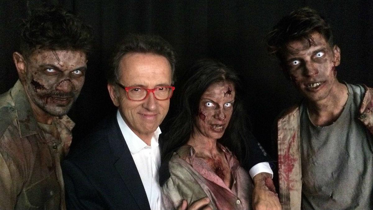 Jordi Hurtado protagoniza la campaña digital del estreno de la novena temporada de la famosa serie de la Fox The walking dead.