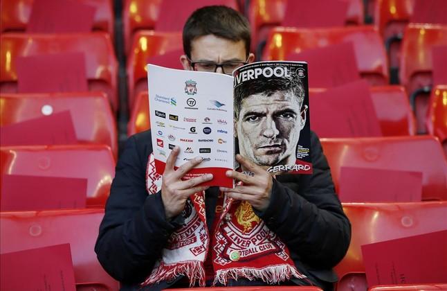 Anfield se vuelca en la despedida de Gerrard